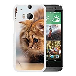 Fluffy Kitten (2) Durable High Quality HTC ONE M8 Phone Case