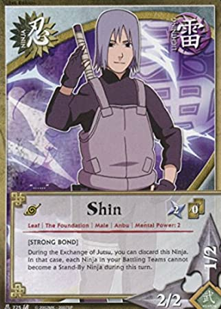 Amazon.com: Tarjeta de Naruto – Shin 725 – roto promesa ...