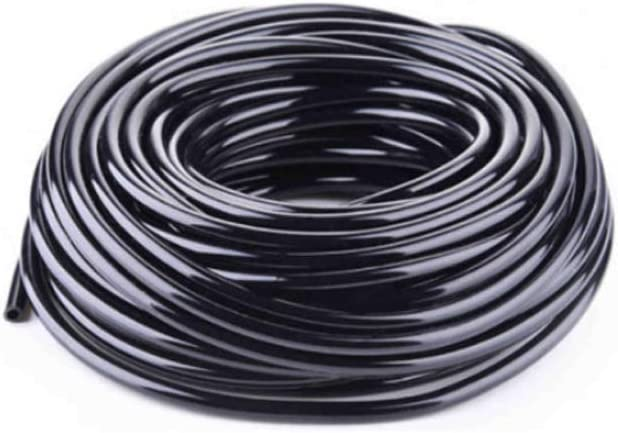 SUCOHANS 200ft 1/4 inch Blank Distribution Tubing Drip Irrigation Hose Garden Watering Tube Line,Drip Line,Drip Irrigation,Tubing Drip Tube