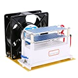 Heavy Duty Ozone Generator 110v 10g/H Ceramic Plate Sterilizer Fan Air Purifier