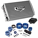 Boss Audio AR1600.4 1600 Watt 4-Channel Car Audio Amplifier+Amp Kit+Bass Remote