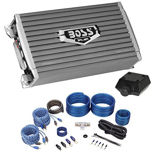 Boss Audio AR1600.4 1600 Watt 4-Channel Car Audio Amplifier+
