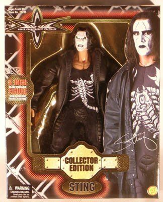 WCW Collector Edition WCW Sting Figure -