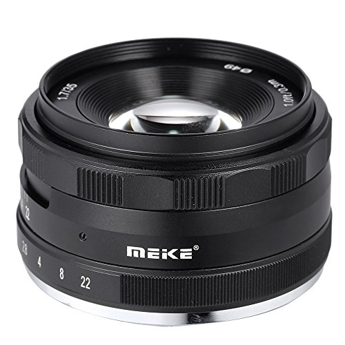 MEIKE MK-FX-35-1 7 35mm F/1 7 マニュアルフォーカス Multi-coated APS-C カメラレンズ Fujifilm X-A1/A2 X-E1/E2/E2s X-M1 X-T1/T10 X-Pro1/Pro2 ILDC ミラーレスカメラ用