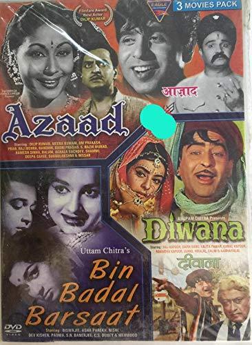 Amazon in: Buy Azaad / Diwana / Bin Badal Barsaat (dvd) DVD