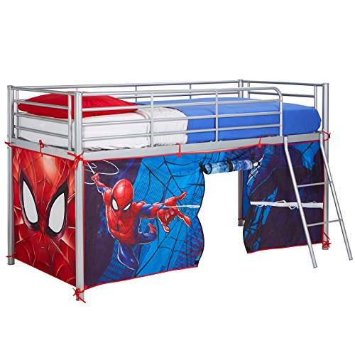 Spider Man Bed Tent - Spiderman Mid-Sleeper Bed Tent