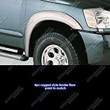 APS Reinforced ABS Fender Flares Rugged 4Pcs For 97-02 Ford Expedition