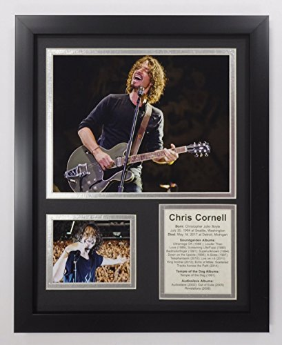 Legends Never Die Chris Cornell - Framed 12