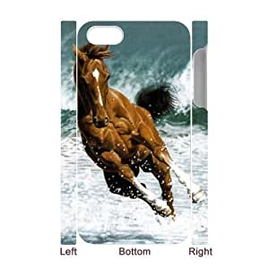 S-ADFG Diy hard Case Horse customized 3D case For Iphone 4/4s