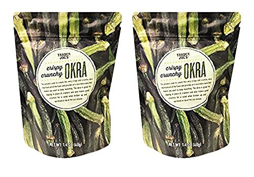 Trader Joe's Crispy Crunchy Okra 1.4oz (Pack of -