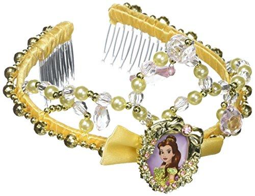 Belle Classic Disney Princess Beauty & The Beast Tiara, One Size -