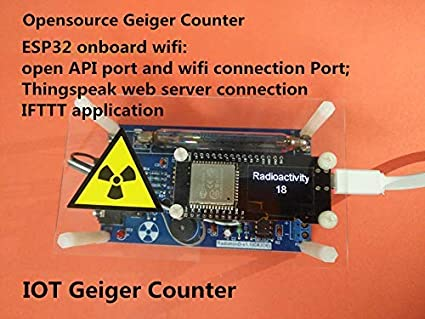 Networkable Professional Assembled Geiger Counter Kit, Nuclear Radiation Detector GM Tube γβ-ray Radiation: Amazon.com: Industrial & Scientific