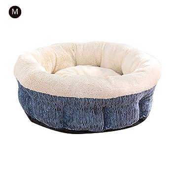 Suave y cálido perro casa cama de dormir Saco de dormir colchón colchón gato cojín agujero para caseta, BlueM: Amazon.es: Instrumentos musicales