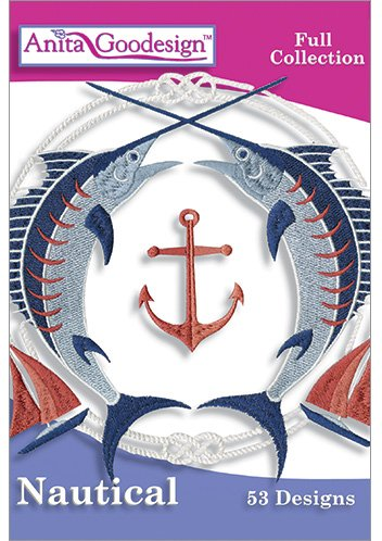 Anita Goodesign Embroidery Designs Nautical by Anita Goodesign