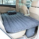FWQPRA Outdoor Inflatable Travel Air Sofa Car Bed Inflatable Mattress Camping Pad Car Rear Seat Sofa with Pump
