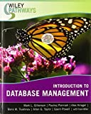 img - for Wiley Pathways Introduction to Database Management by Mark L. Gillenson (2007-03-16) book / textbook / text book