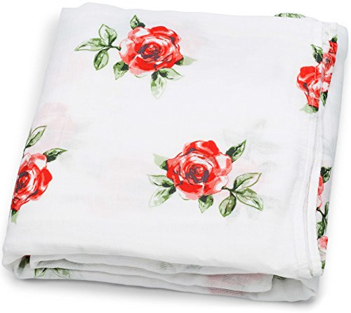 Floral Receiving Blankets (Muslin Swaddle Blankets