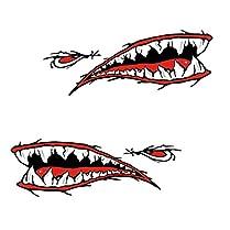 Pegatinas de dientes de Tiburón 4