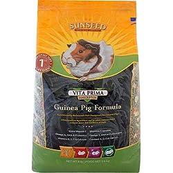 Sunseed 36038 Vita Prima Sunscription Guinea Pig Food - High Fiber Timothy Formula, 8 LBS