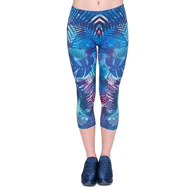 Pantalones De Yoga Mujeres Llegada Nueva Verano Capri ...