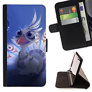 DEVIL CASE - FOR Apple Iphone 4 / 4S - Lord shen peacock Cute - Style PU Leather Case Wallet Flip Stand Flap Closure Cover