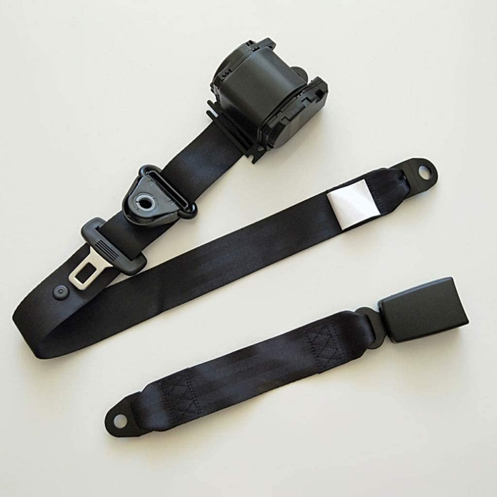 Amazon Com Zl Large And Medium Sized Bus Seat Belts Auto Retractable Emergency Stop 3 Point Seat Black Sports Outdoors