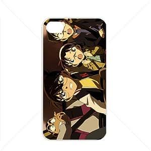 Detective Conan Manga Anime Comic Apple iPhone 4 / 4s TPU Soft Black or White case (White)