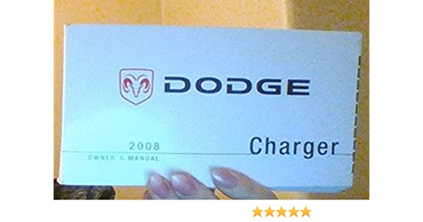 2008 dodge charger manual