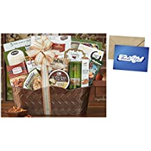 Bon Appetit Gift Basket for Thank You and personalized card mailed seperately, CD3281092