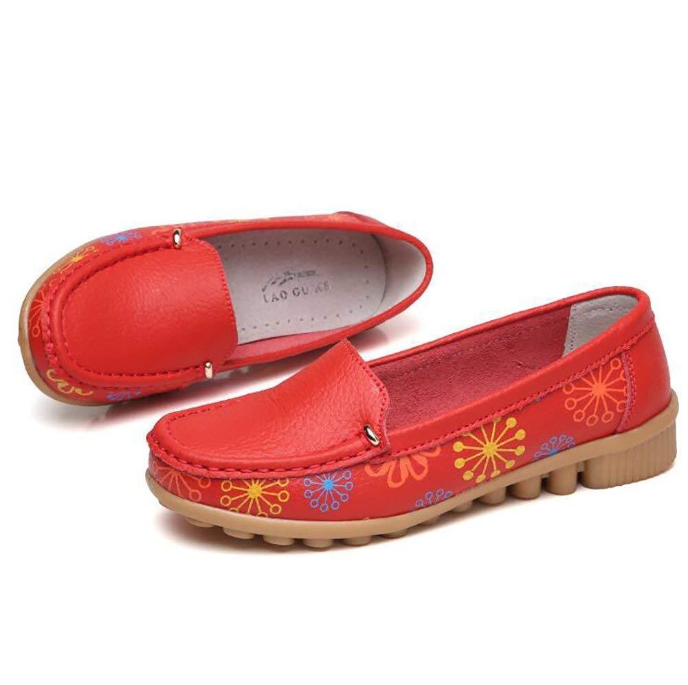 Fuxitoggo Rutschfest Sohle Simple Flach Schuhe Hohe Qualität Damen Blau Beiläufig Schuhe Blau Damen US5.5 EU36 UK3.5 CN35 (Farbe   Rot Größe   US8.5 EU40 UK6.5 CN40) 3e4b62