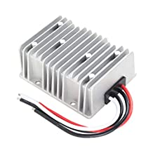 uxcell® uxcell Voltage Converter Regulator DC/DC DC 12V Step-Up to DC 24V 20A 480W Power Boost Transformer Waterproof