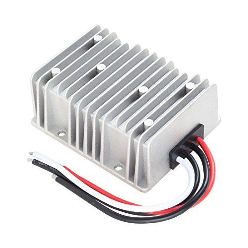 uxcell Voltage Converter Regulator DC/DC DC 12V Step-Up to DC 24V 20A 480W Power Boost Transformer Waterproof