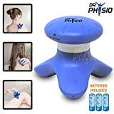 Dr Physio Mini Full Body Hand Massager Machine for pain relief ( head, face, foot ) 3 AAA batteries included