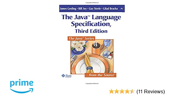 The Java Language Specification, 3rd Edition: James Gosling