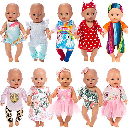 Top 10 recommendation baby doll clothes 16 inch 2020
