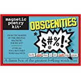 Magnetic Poetry MP3708 Little Box of Word Magnets: Obscenities