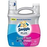 Snuggle Plus Superfresh Liquid Fabric Softener, Spring Burst, 90 Loads, 2.8 L