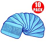 10pcs Wet Microfiber Mopping Cloth LinkStyle Recycling Replaceable Mop Pad Pro-Clean Mopping Cloths for iRobot Braava Braava Floor Mopping Floor Mopping Robot