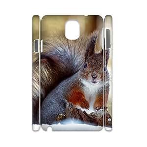 GRTT Unique Diy samsung galaxy note 3 N9000 case Squirrel 3D Bumper Plastic customized case RT806707