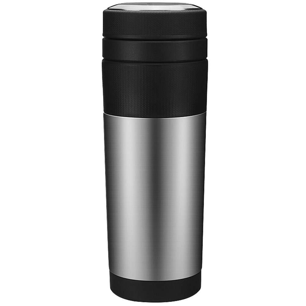 Sportflasche Isolier Becher Thermo Becher Travel Mug Kaffeebecher Wasserflasche Trinkbehälter Trinkflaschen- Tragbarer Outdoor-Reisebecher Aus Edelstahl Mit Vakuum FENPING