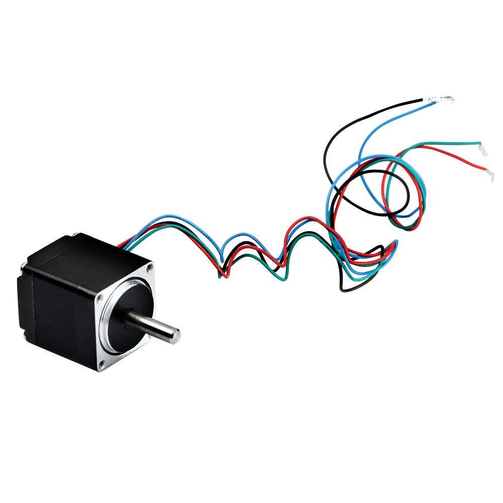 Nuevo motor paso a paso hí brido Nema11 Bipolar 2 fases 12 V 0, 67 A28 mm DIY Robot CNC Blackr