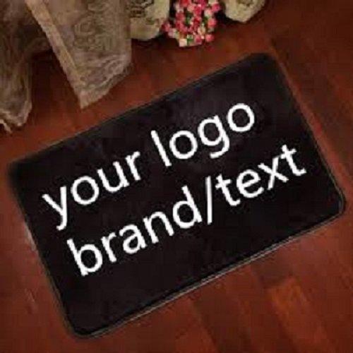 BANNER BUZZ MAKE IT VISIBLE Custom Entrance Home Office Indoor Floor Logo mats Non Slip Floor Mats (2.25
