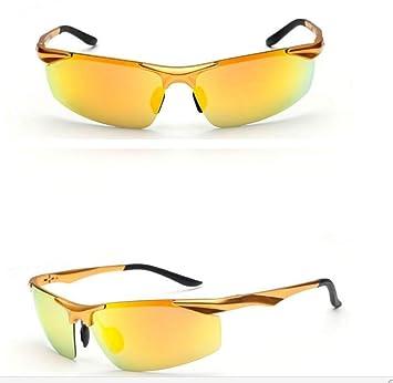 Art Und Weise Kühle Sonnenbrille Polarisierte Aluminium- Und Magnesium-bunte Sonnenbrille-Mann-Sonnenbrille-Art- Und Weisegläser-Sport-Sonnenbrille,Blue