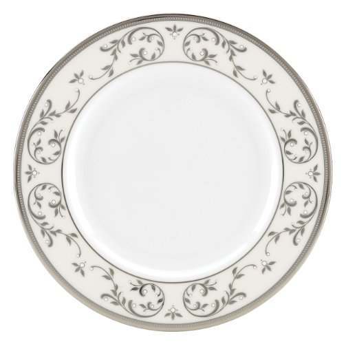 Opal Salad Plate - Lenox Opal Innocence Silver Salad Plate