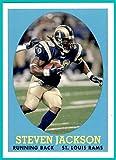 2007 Topps Turn Back The Clock #12 Steven Jackson ST. LOUIS RAMS OREGON STATE BEAVERS
