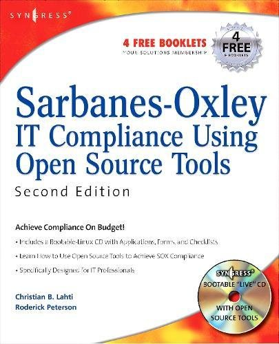 Sarbanes-Oxley IT Compliance Using Open Source Tools (Best Open Source Reporting Tools)