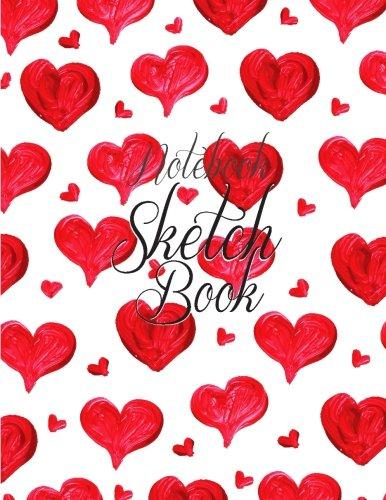 "Download Notebook Sketchbook: Wedding Valentine Cover : Notebook Sketchbook, Paper Book for Sketching, Drawing, Journaling & Doodling (Sketchbooks), Perfect Large size at 8.5"" x 11"", 120 Pages, ebook"