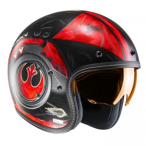talla S HJC FG-70S PoE Dameron mc1sf casco para Moto Color Negro//Blanco//Rojo