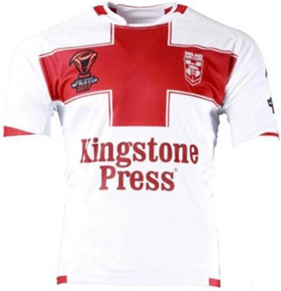 HXSON Camiseta de Rugby para Hombre Camiseta de fútbol Polo-2017 ...