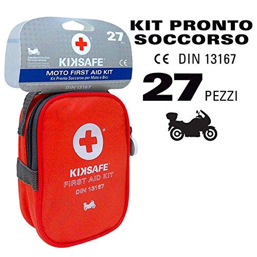 Emergenza e soccorso Kit primo soccorso Per moto e bici DIN 13167 KIKSAFE